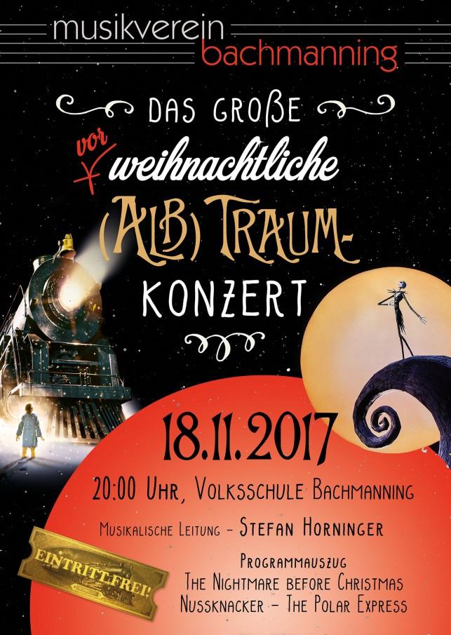 Vorankündigung fürs große vorweihnachtliche (Alb)Traum-Konzert!