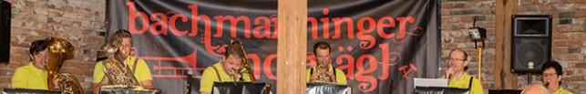 Bachmanninger Notnägl beim Pfarrfest
