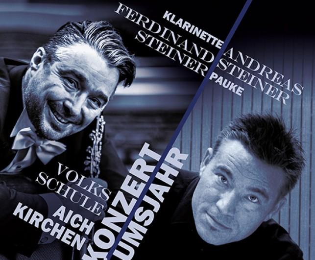 Andreas und Ferdinand Steiner als Solisten beim Frühjahrskonzert!